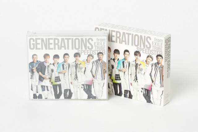 GENERATIONS from EXILE TRIBEの3rd ALBUM『SPEEDSTER』の商品画像 通常盤2