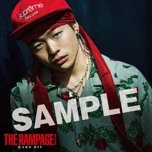 the rampage from exile tribe 6thシングル hard hit exile tribe